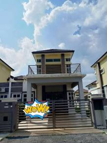 Seremban sikamat warisan puteri semi-d double storey very cheaper now