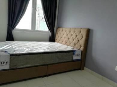 FREEHOLD HIGH FLOOR Kenanga Residences Kampung Lapan nr Parkland Kota