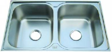 Deep n Thick Double bowl Stainless steel sink
