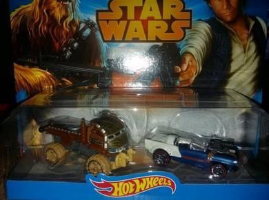 Hotwheel Star Wars Car Han Solo & Chewie