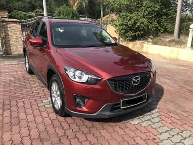 2014 Mazda CX-5 2.5 2WD (A) CBU -Direct Lady Owner