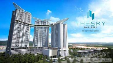 Alma New Launching Project The Sky Tripark near Jusco Tesco Kulim
