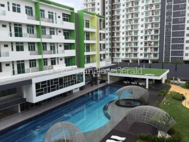 Setia Triangle Condo-Low Density & Nice Pool View (Below Buying Price)
