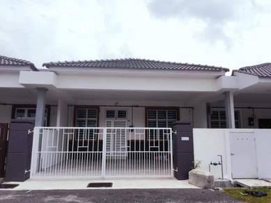 New House Bukit Katil Saujana Single Storey 24x85 Extra Big 4room