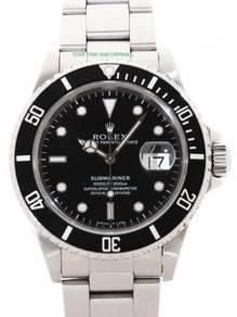 Rolex submariner 16610ln date t
