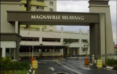 Apartment to let(Perfect for those working at Selayang GH)