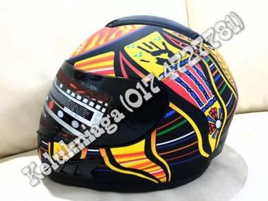 Original MRC 5 Continents 46 Rossi Design Helmet