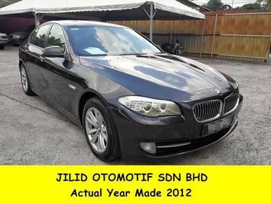 2012 BMW 520i 2.0 (A) F10 Full Service Record