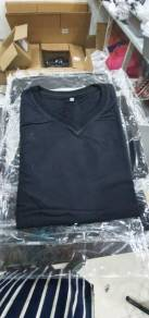 T-shirt 100% cotton all black