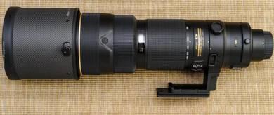 Nikon 200-400mm F4 VR Lense