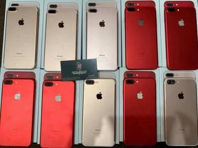 Iphone 7 plus 128gb 100% original condition cantik