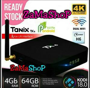 Tanix TX6 box tv 4g/64g android set top iptv smart