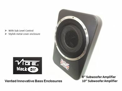 Vibe 10'' under seat active subwoofer