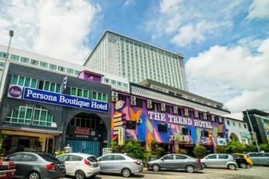 Bilik hotel untuk disewakan Melaka Tengah