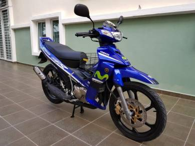 Yamaha 125ZR Movistar Moto GP Replica
