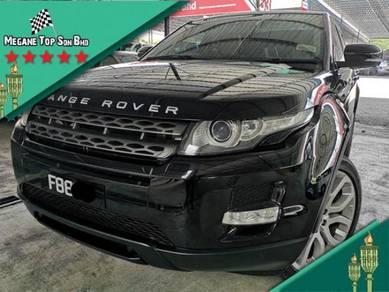 2014 Land Rover RANGE ROVER 2.0 EVOQUE (A)CARKING