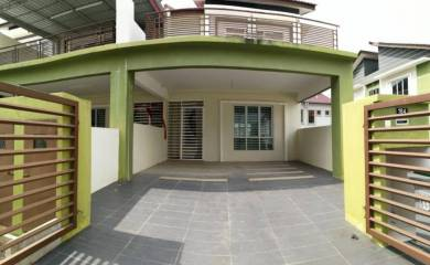 MURAH END LOT Double Storey Terrace House Aria Park Citra Hill Nilai