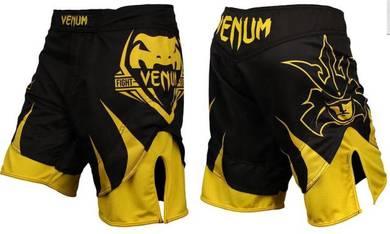 Venum UFC MMA Yellow short Pant (Gym Fitness Sport