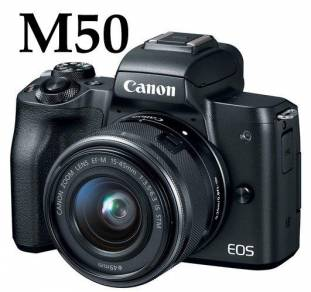 NEW Canon EOS M50 with 15-45mm STM IS Lens Camera
