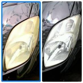 Car head lamp nano coating like new