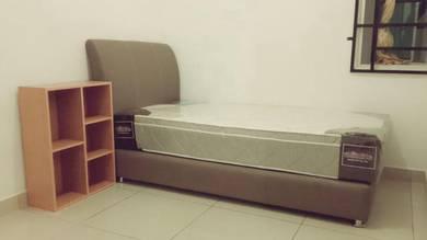 Single Divan Bedframe + 11inch mattress to let go