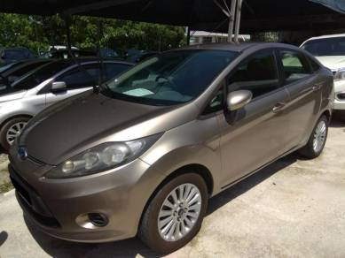 2010 Ford FIESTA 1.6 L SEDAN (A)