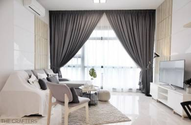 Vogue Suite One KL Eco City, Mid Valley, Ready Move In, Walking to MRT
