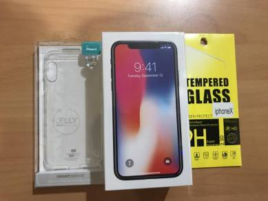 Apple IPhone X 64gb Space Grey or silver