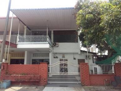 Double storey house at raja uda