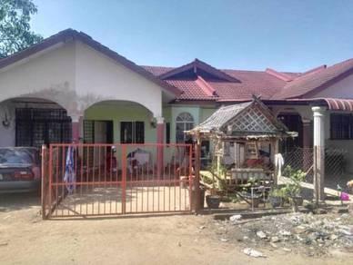 Rumah Teres 1 Tingkat Taman Anggerik Kok Lanas, Kota Bharu Kelantan