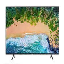 SAMSUNG 65 Flat Smart 4K UHD LED TV UA65NU7100KXXM