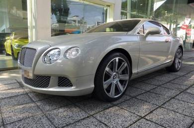 Bentley continental gt w12 2012 imported new