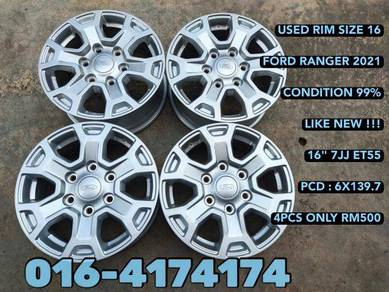 Used rim 16 ford ranger 2021 99% like new starex