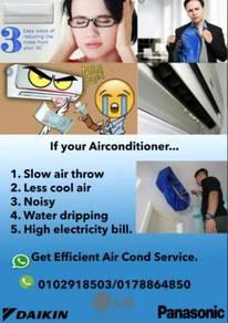 Aircond service shah alam murah cepat