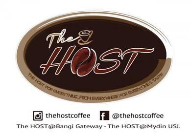 Barista/Cashier The Host Coffee, Mydin USJ, Subang