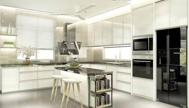 Custom Made Modern Design Kitchen Cabinet