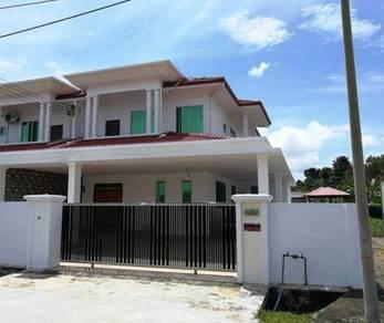 Double Storey Terrace Corner (Brand New) Luak Bay Area