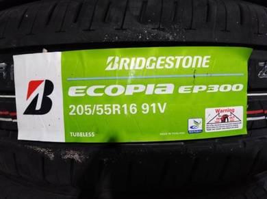 205/55/16 Bridgestone Ecopia EP300 Tyre Tayar
