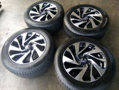 Honda civic fc oem 16inc rim with tire for stream