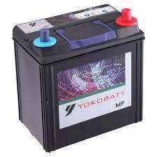 Car battery bateri yokobatt mf NS 40 OCT 2018
