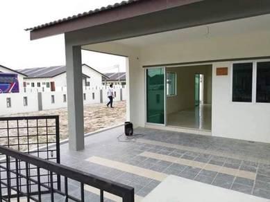 Design Rumah Teres 1 Tingkat Modern