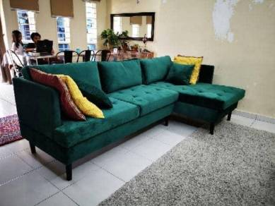 Sofa L Shape 3 Seater free delivery