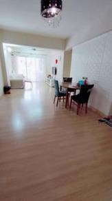 2 carpark Vista Saujana Apartment Reno 100% Loan Kepong KIP