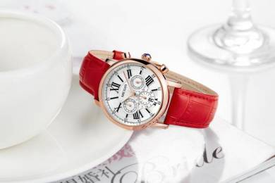 Original megir luxury exclusive paris women watch