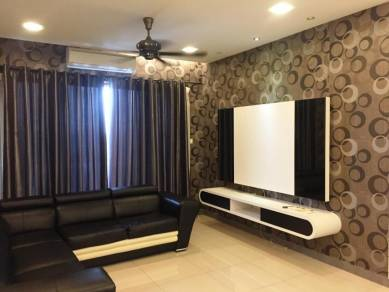 (2 CARPARKS FULLY RENO) Vistaria Residensi, Taman Pertama Near MRT