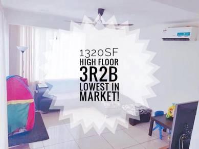 Maisson Ara Damansara /Cozy high floor unit/ Near LRT / Must view!!!