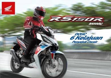 Honda RS150 R RS 150 Muka Rendah Senang Lulus