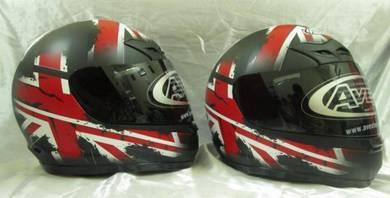 AVEX DX-11MB Britain Design Full Face Helmet