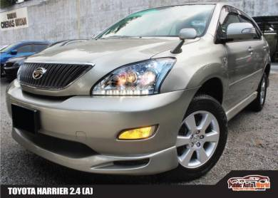Toyota HARRIER 2.4 ELECT/SEAT R/CAMERA ACTUAL 2004