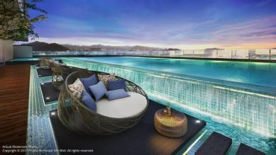 MONTAGE, Sungai Nibong【5Mins To Queensbay】/ Free 2 or 3 Car Parks
